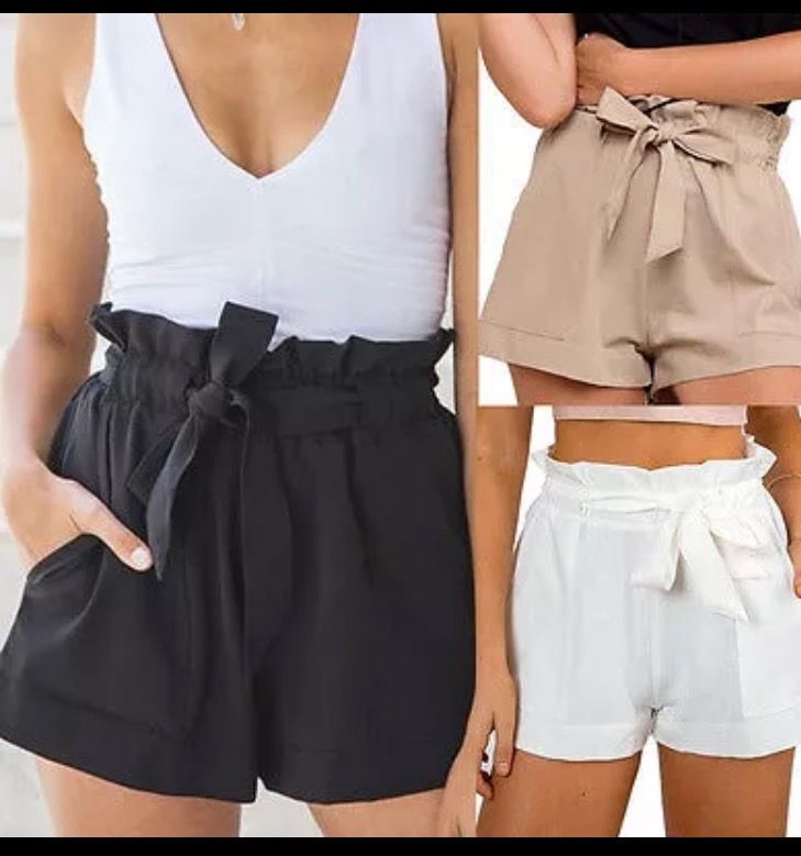 Pin By Karen Galvez On Shorts Bottom Clothes High Waisted Shorts Fashion