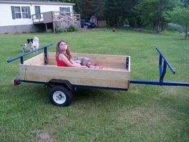 Photo of How to Turn a Harbor Freight Trailer Into a Kayak/Camping Trailer