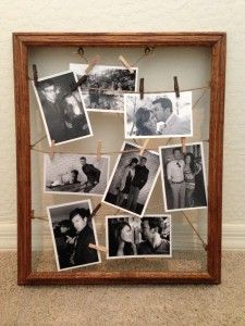 diy stuff rustic collage picture frame - Diy Picture Frame Collage