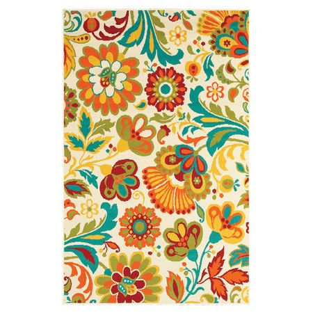 Only 52 99 Free Shipping This Would Go Perfect In My Living Room Wayfair Com Online Home Store For Furniture Decor Ou Floral Rug Shaw Rugs Beige Rug