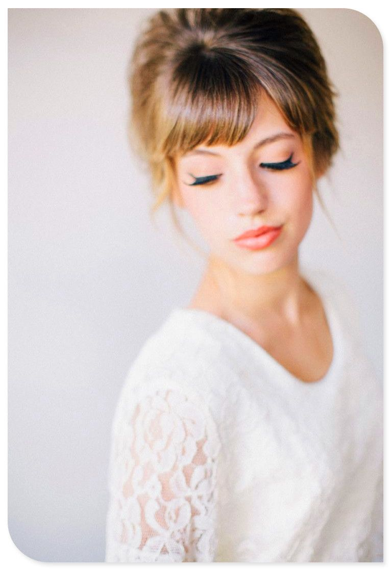Wedding hairs- love the make up as well | Wedding | Pinterest ...