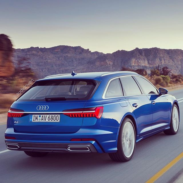 2019 Audi A6: Pic 2/2 Have You Seen The New A6 Avant Yet? How Do You