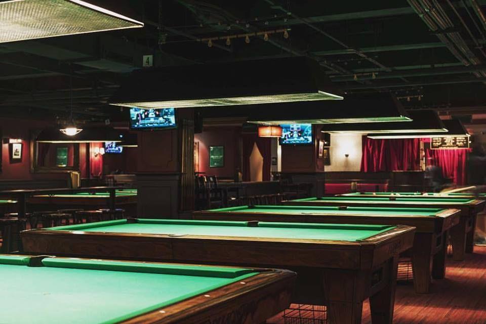 Society Billiards + Bar Pool Hall Darts Ping Pong Food