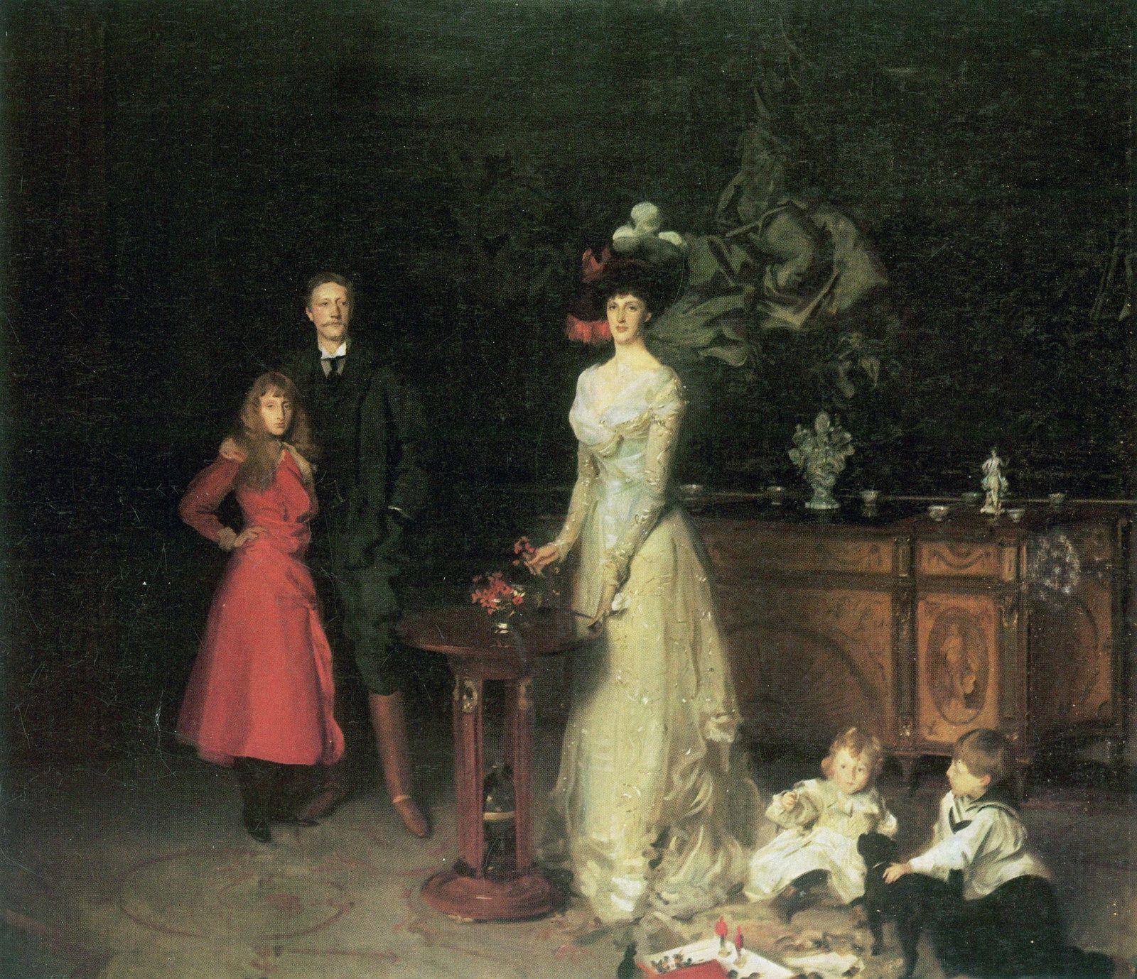 Familie Sitwell. John Singer Sargent
