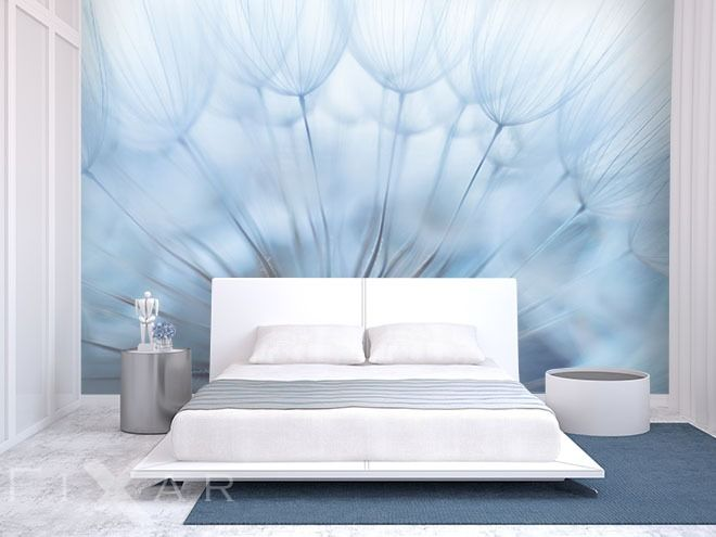 fototapeten erholung in einer pusteblume schlafzimmer pinterest erholung fototapete und. Black Bedroom Furniture Sets. Home Design Ideas