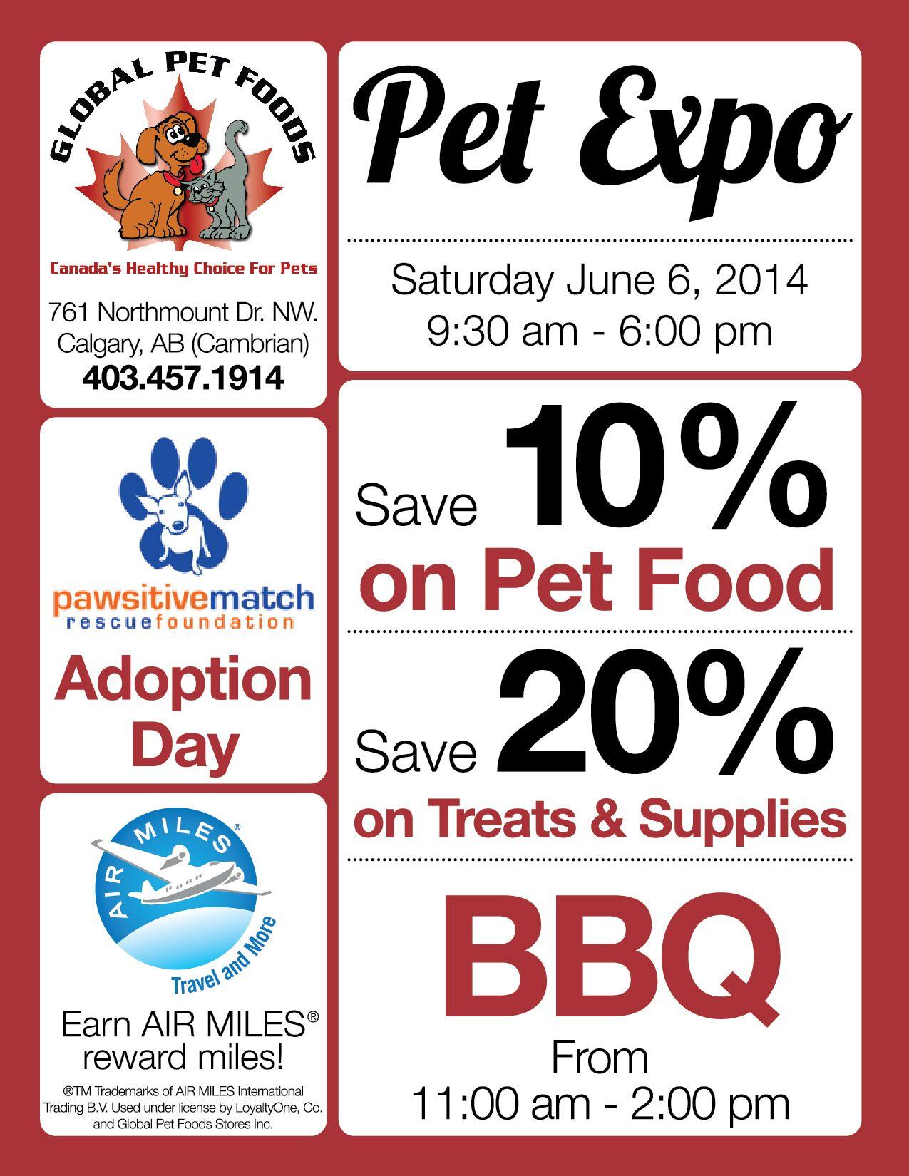 Visit the Global Pet Foods store in Calgary, Alberta