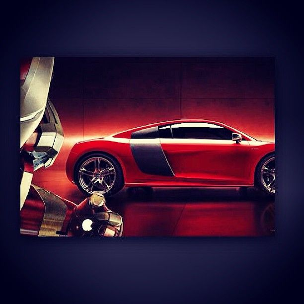 Supercar for a Superhero!!- Audi R8  #Ironman www.motorhappy.co.uk