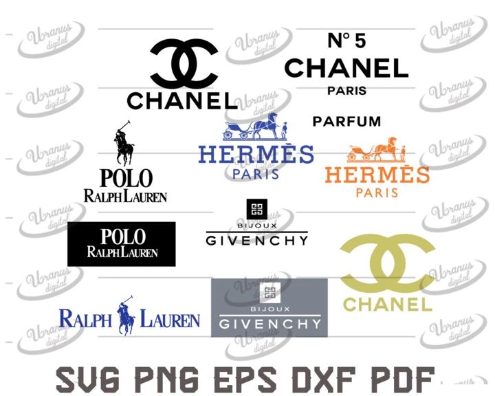 Bundle Brand logo fashion Svg, Silhouette Cameo, Cricut