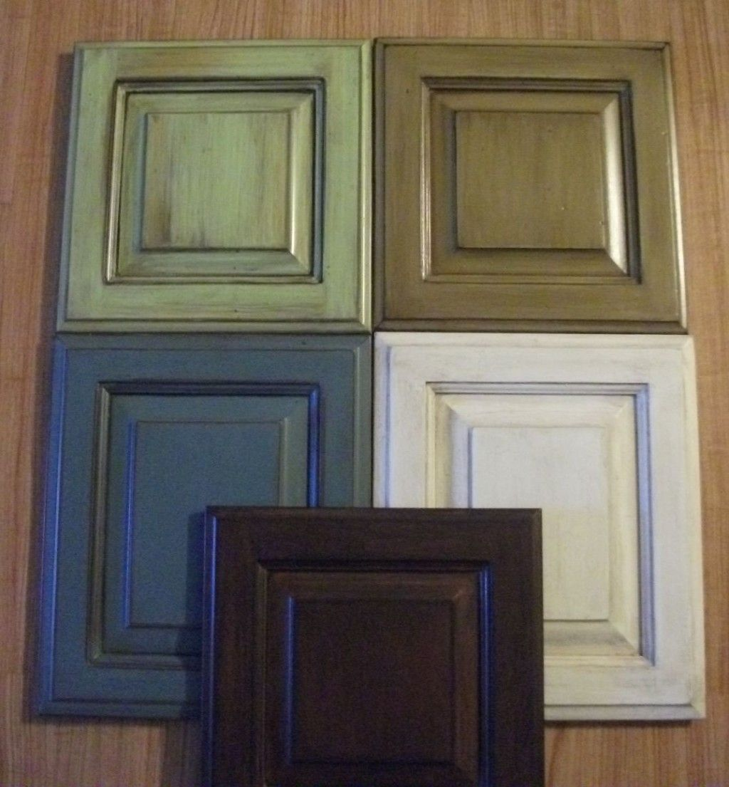 Kitchen Cabinet Refinishing Creating A Custom Look Faux Painting Refinishing Cabinets Green Kitchen Cabinets