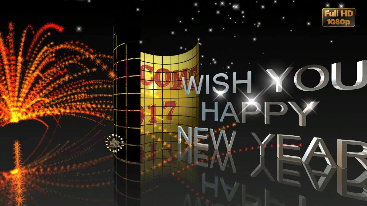 awesome Happy New Year 2017,New Year Wishes,Whatsapp Video