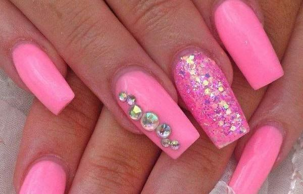 Unas Decoradas Colores Neon Nails And Skin Pinterest Fun Nails