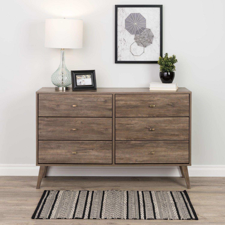 Prepac Milo 6 Drawer Dresser White Walmart Canada Mid Century Modern Dresser Modern Dresser Prepac [ 1500 x 1500 Pixel ]