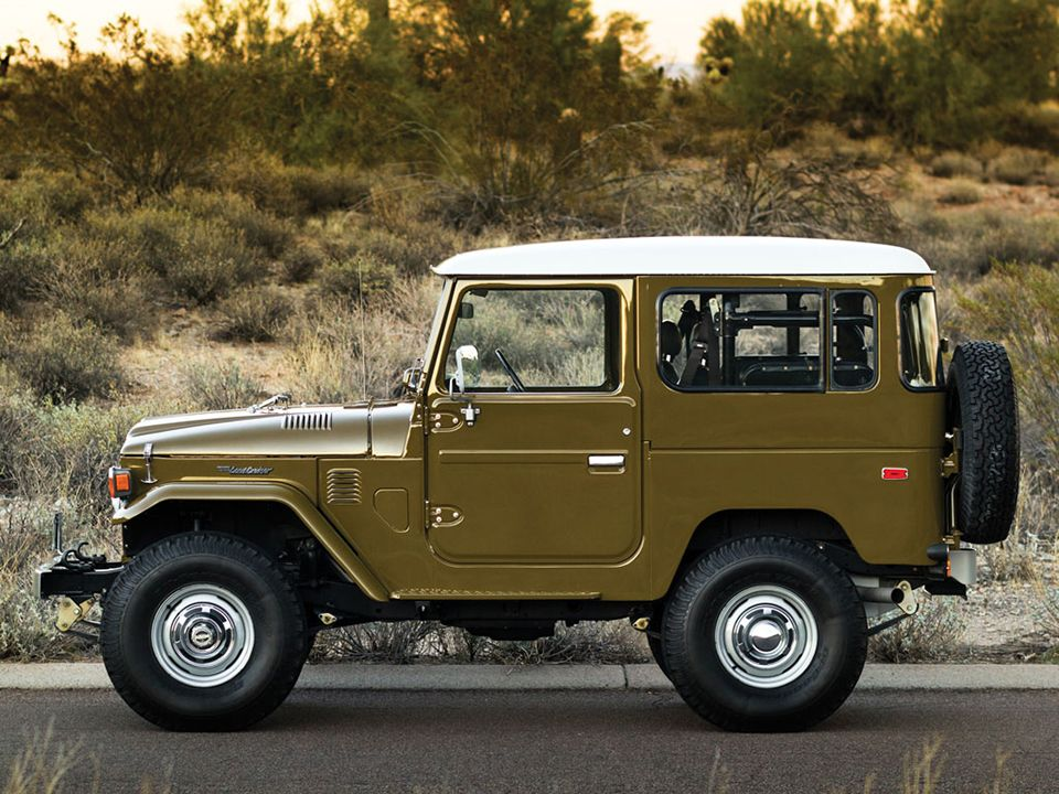 Charming This Would Be An Excellent Camping Car!    A U002777 Toyota FJ40 Land