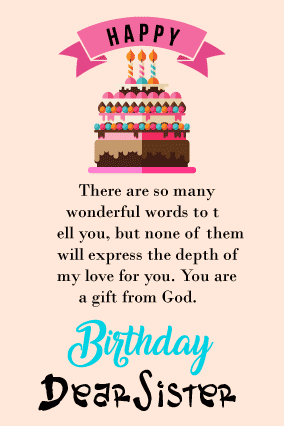 happy birthday letter for sister from brother with birthday messages fully customized products free customization layouts huge range of layouts