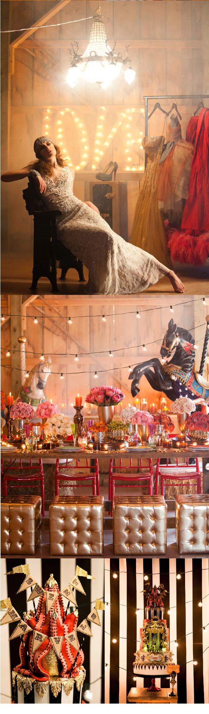 Amazing Circus Themed Wedding Inspiration
