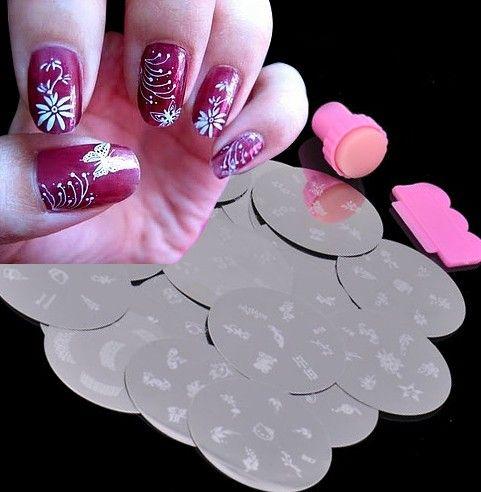 Nail Art Stamp http://www.naildesignspro.com/nail-art-stamping-kit/