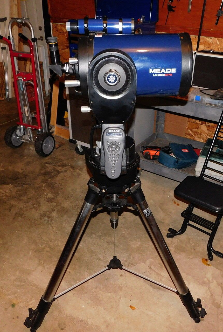 8 inch Meade LX200GPS GOTO Telescope System with Wireless Controller
