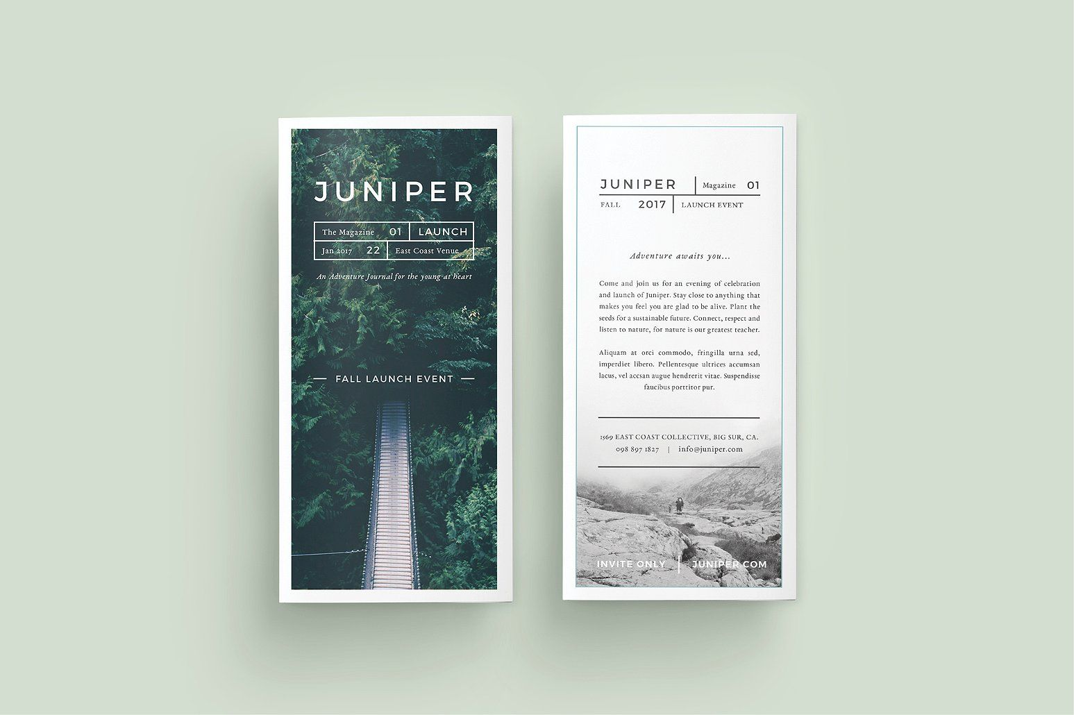 j u n i p e r trifold brochure by 46 2 collective on