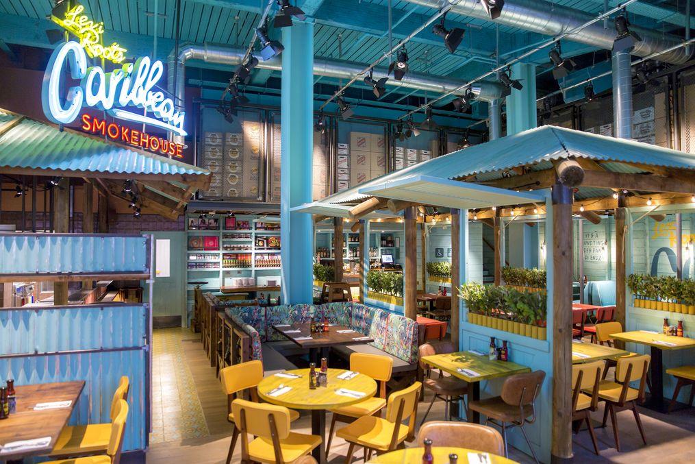 Caribbean Smoked Restaurant Design Google Search