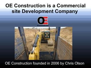 Oe Construction Firm Licensed In Twenty Cities And Counties