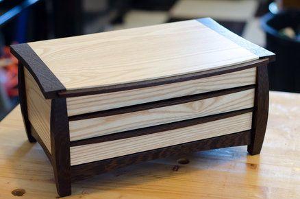 My Version Of Wood Magazine Jewelry Box Wood Boxes Wood Boxes