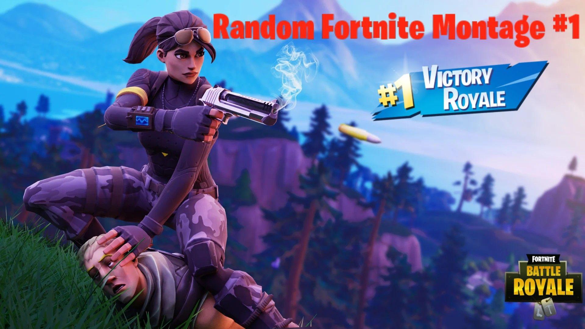 Random Fortnite Montage 1 in 2020 Best gaming