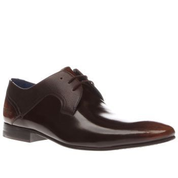 a547b81813aaaa ... Leather Derby Shoes in Red for Men most popular c3964 c6229  Ted Baker  Brown Pelton Mens Shoes If people judge you based on your shoe choice