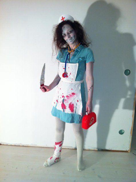 Scary nurse Halloween costume Scary, Halloween makeup and - halloween costumes 2016 ideas