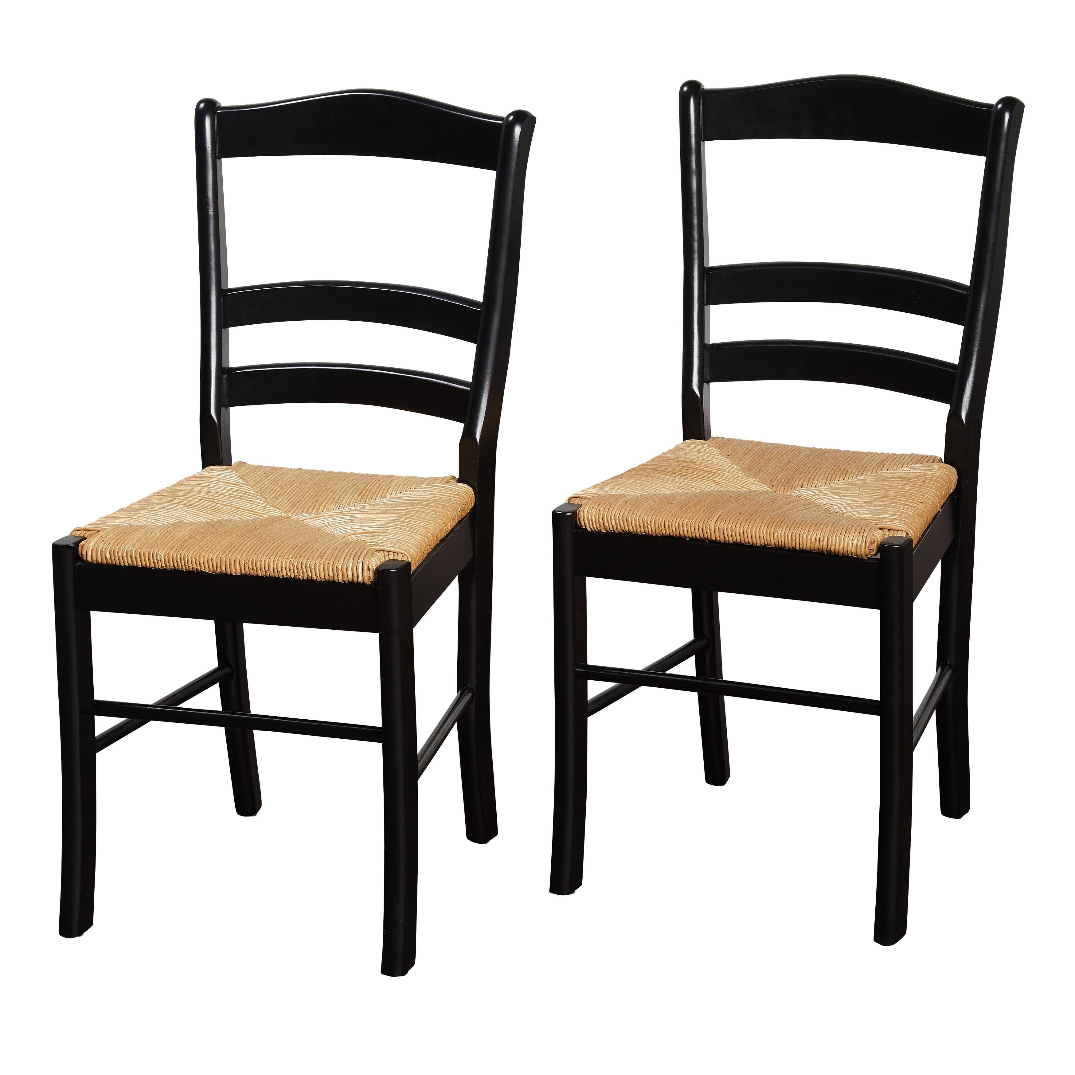 Simple Living Paloma Wooden Dining Chairs (Set of 12)  Solid wood