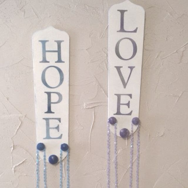 Fun idea from a friends wife great use for old ceiling fan blades fun idea from a friends wife great use for old ceiling fan blades check aloadofball Choice Image