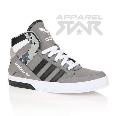 pretty nice 47249 1d6f8 adidas Hightop Trainers Hard Court Mens Block Sneakers Shoes Womens Hi High  Top