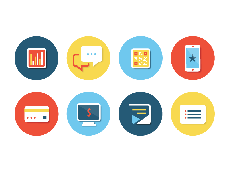 Dribbble Service Icons By Mckenna Brandon Web Design Icon Web Design Web Development Design