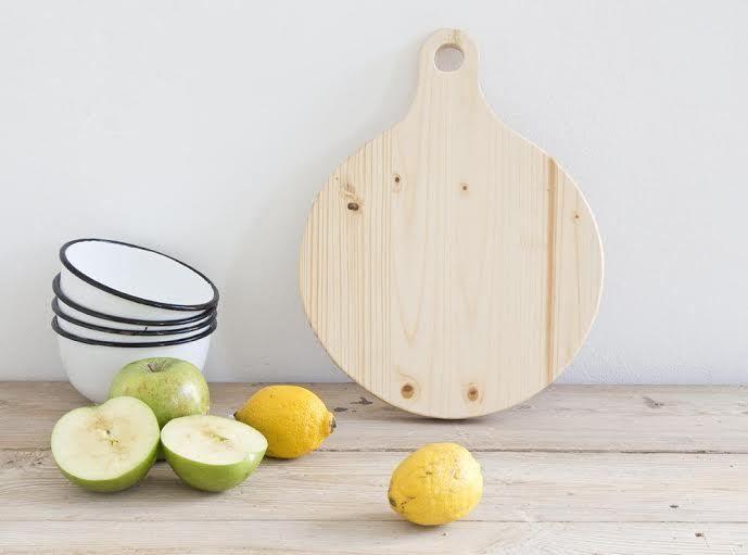 Tabla cocina con mango www.doblecoco.com