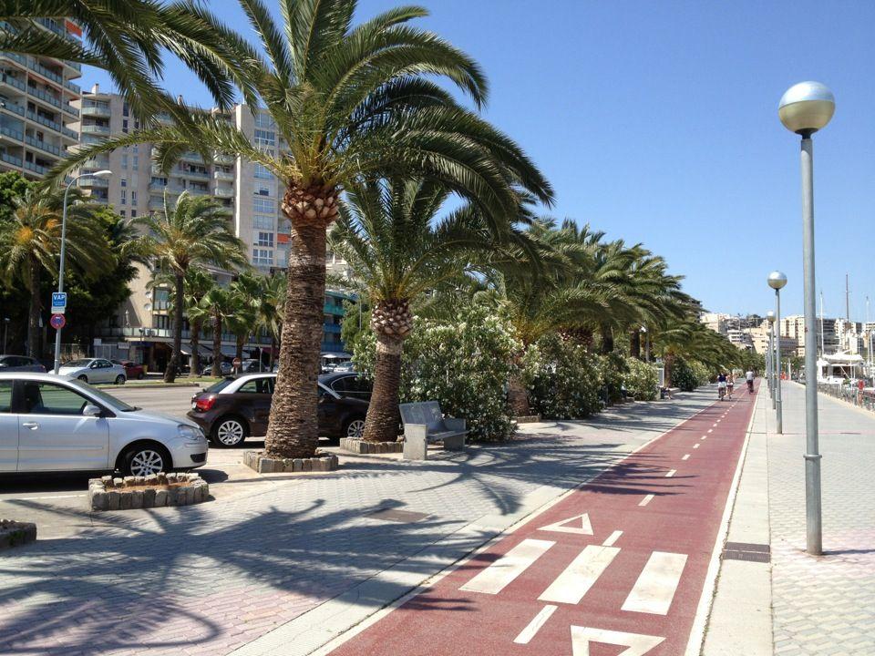 Paseo Marítimo in Palma, Islas Baleares