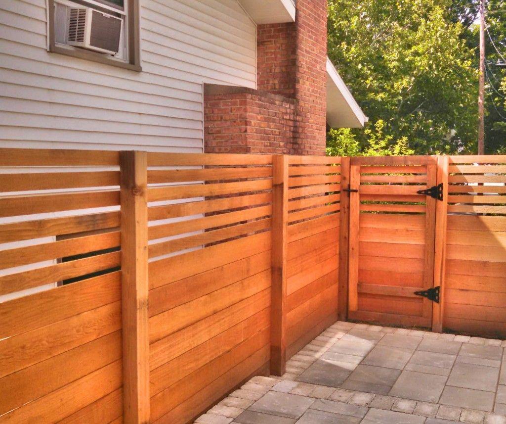 horizontal wood fence gate. Custom Fencing Bend Oregon | Backyard Oasis Pinterest Bend, Oregon, Commercial And Patios Horizontal Wood Fence Gate
