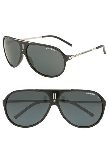001cae44d0 Carrera Eyewear  Hot  64mm Polarized Vintage Inspired Aviator Sunglasses  available at  Nordstrom