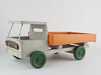 Drewniany Samochod Prl Zbik 6904306808 Oficjalne Archiwum Allegro Toy Car Wooden Toy Car Wooden Toys