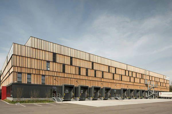 Betriebsgebäude in Hörsching, Poppe Prehal Architekten mit GBT Planung und Freudenthaler GmbH