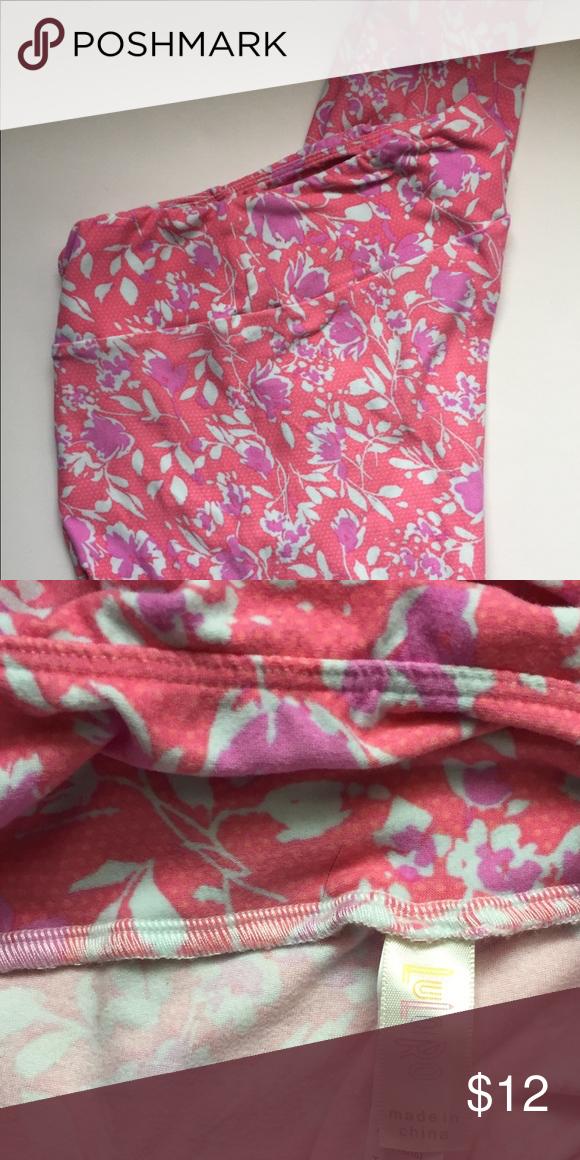 dfa45cce2072a9 #lularoe Leggings TC Tall Curvy Pink Purple#shopmycloset #poshmark #fashion  #shopping