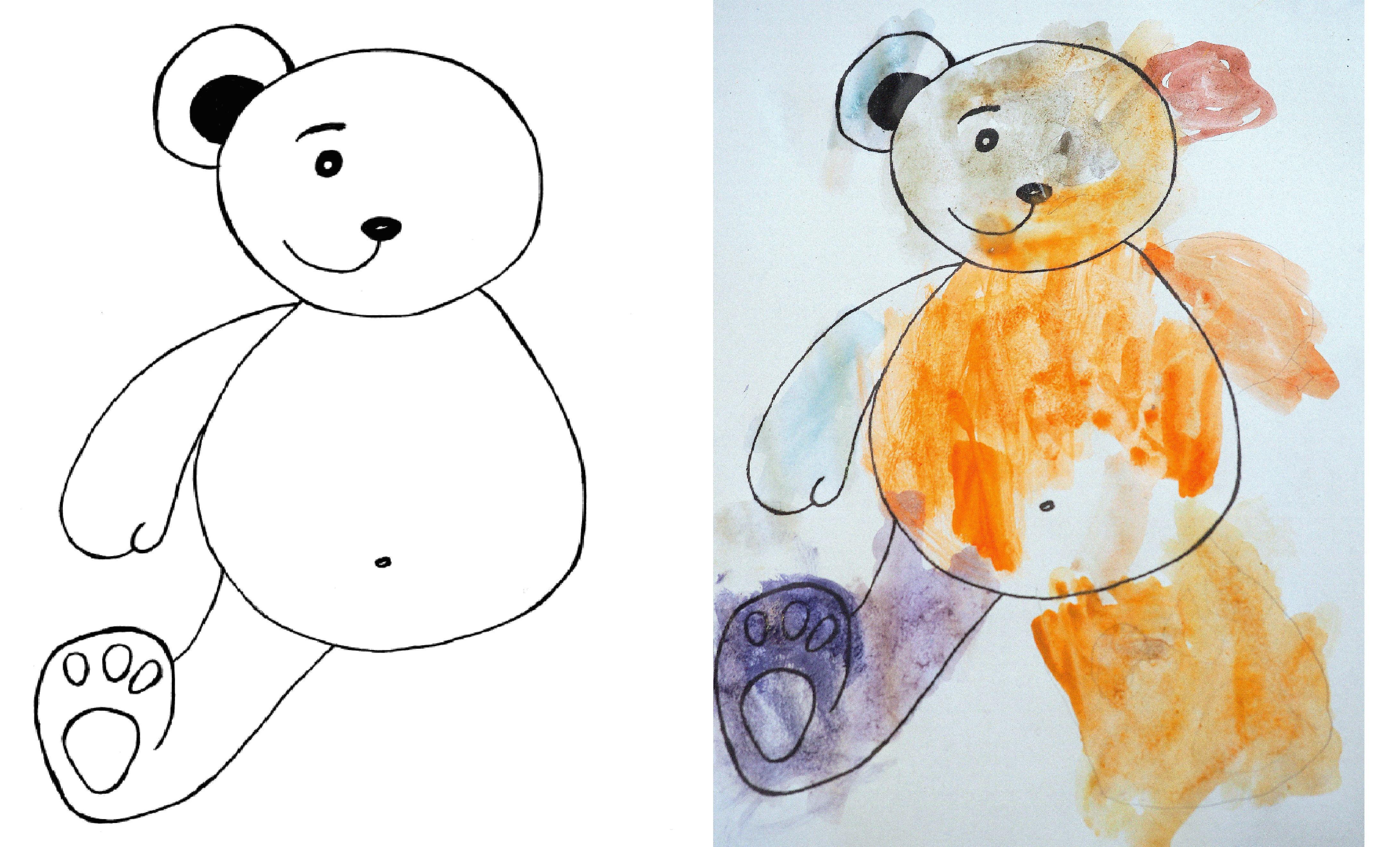Dokoncz Rysowac Misia Moje Dzieci Kreatywnie Arts And Crafts Crafts Fun