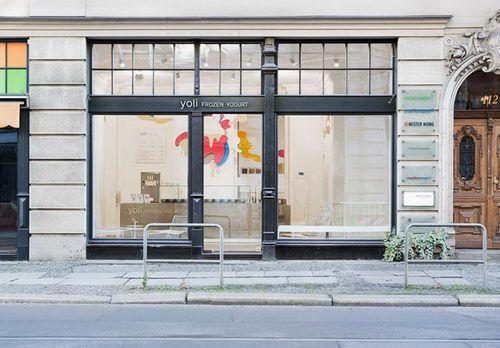 Yoli Frozen Yogurt Store Exterior Design, Berlin