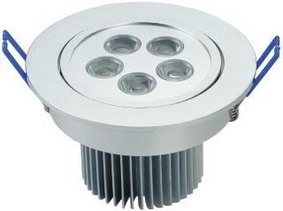 Lampada led da incasso 5w luce calda 90mm luci led faretti da