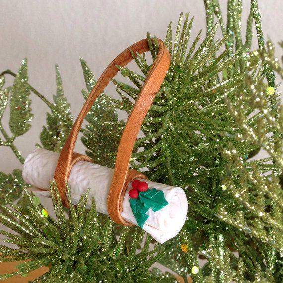 Yoga Ornament Yoga Mat Christmas Ornament By Lovethatleather How To Make Ornaments Christmas Ornaments Big Christmas Tree