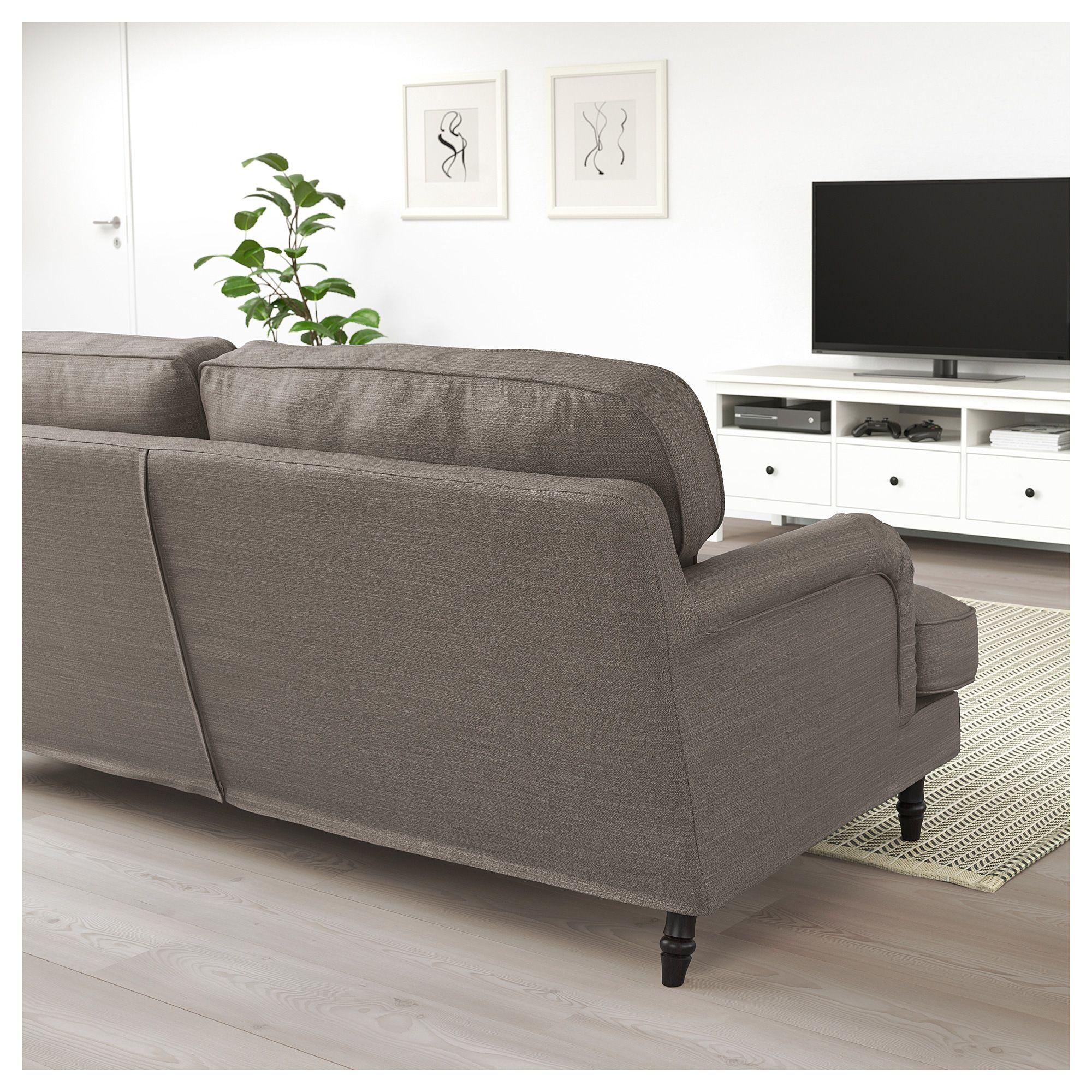 Stocksund Sofa Nolhaga Gray Beige Find It Here Ikea Stocksund