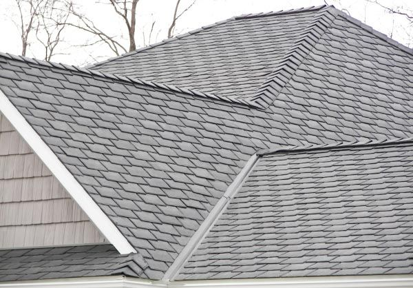 Davinci Polymer Roofing Materials Such As Our Slate Roof Tiles And Shake Slate Roof Roofing Slate Roof Tiles