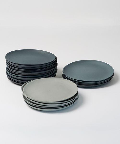 Image Of Teller Grau Set Plates Grey