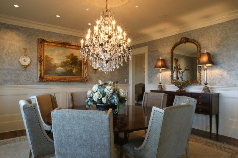 Crystal Chandeliers For Dining Room Awesome Gorgeous Dining Rooms With Beautiful Chandeliers Design Inspiration