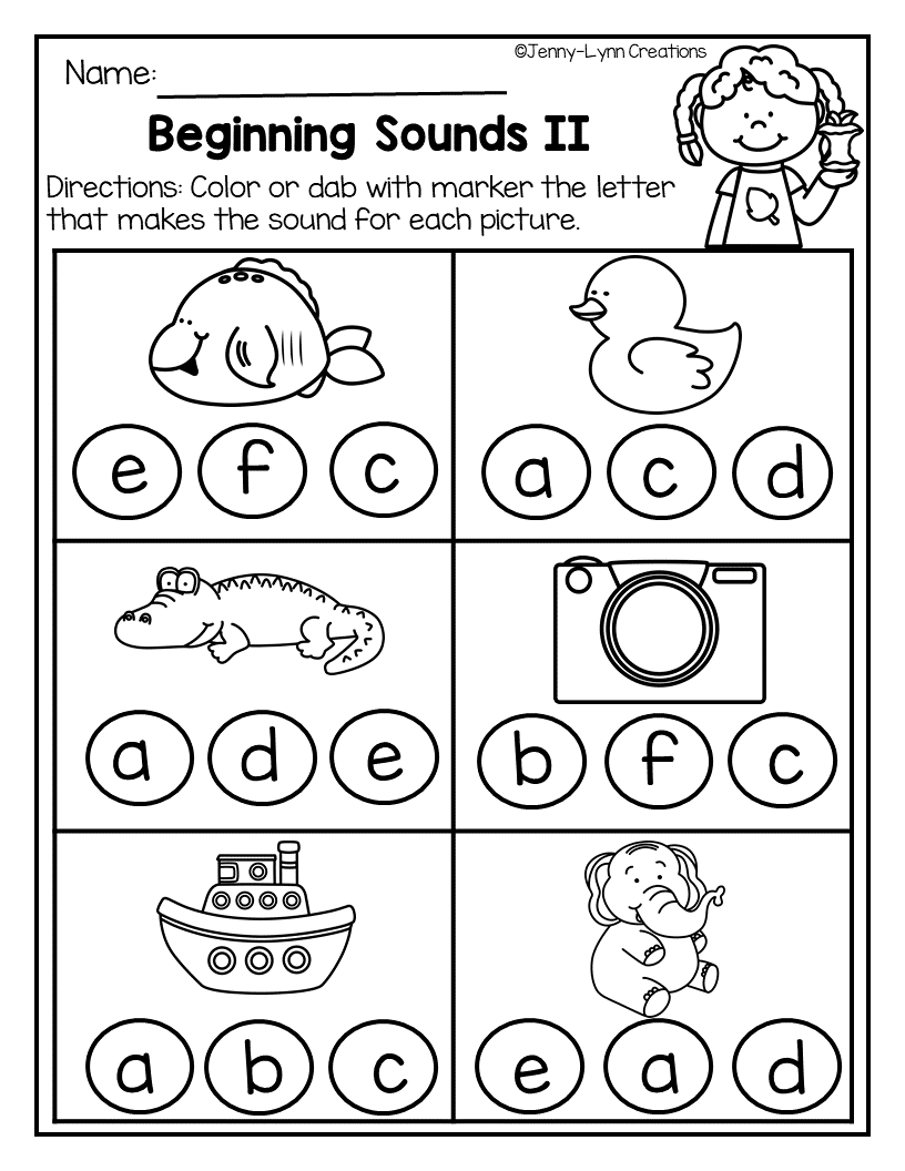 September Is All About Apple Themed Learning Fun This Packet Gives Kindergarten Phonics Worksheets Alphabet Worksheets Preschool Beginning Sounds Worksheets [ 1056 x 816 Pixel ]