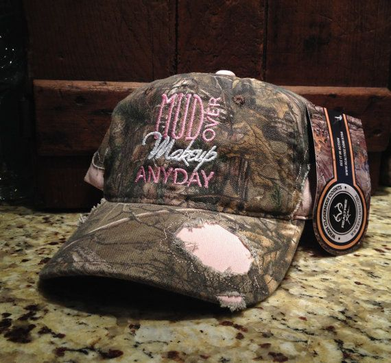 362993e95 Custom embroidered RealTree hat with velcro back.. One size fits all ...