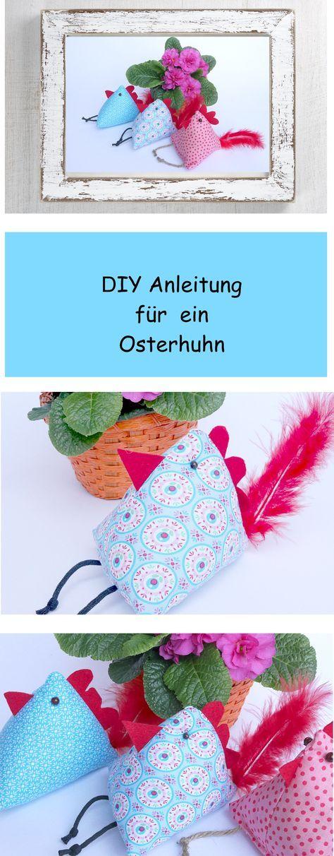 Photo of Anleitung DIY für ein Osterhuhn Die ersten Sonnenstrahlen schauen ins Fenster, …